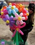 04)Из шаров(11 цветков)