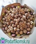 02)Букет из орехов(d=35см)